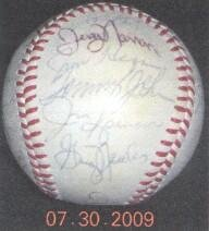 1979 New York Yankees Team Signed Baseball - Autographed Baseballs