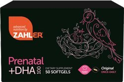 Zahlers Original Prenatal+Dha 100 Mg Once Daily - 50 Softgels