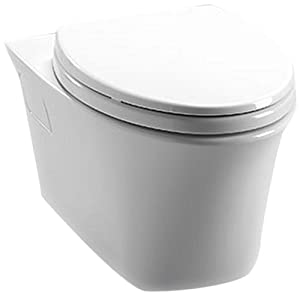 Toto CT486FG#01 1.6-GPF and 0.9-GPF Maris Wall-Hung Dual-Flush Toilet