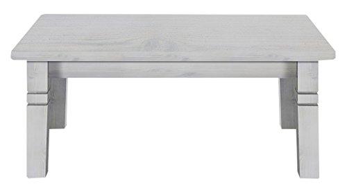 Jumek 125 wss/wss Couchtisch, Holz, weiß, 78 x 120 x 46 cm