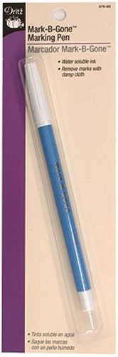 Dritz(R) Marking Pen w/ Water Soluble Ink - Blue