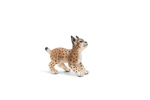 Schleich 14628 - Animali del bosco, Cucciolo di lince