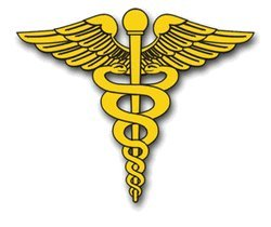 Amazon.com: United States Army Medical Corps Insignia Decal Sticker 5
