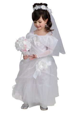 [Rubies Magical Princess Deluxe Bride Costume, Child Small] (Princess Bride Halloween Costumes)