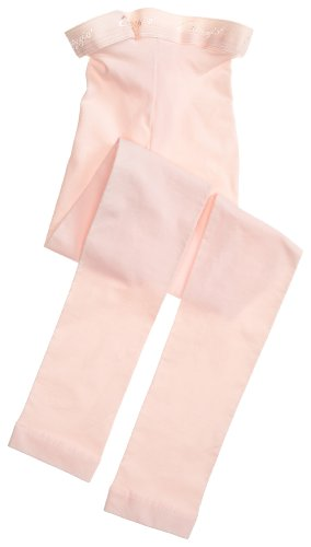 Capezio Girls 7-16 Ultra Soft Footless Tight,Ballet Pink,One Size