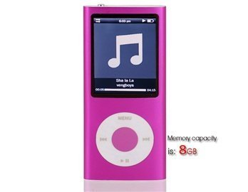 Statistics For 8Gb 2.2 Lcd Screen Mp4 Player Containing 0.3M Camera (Pink)