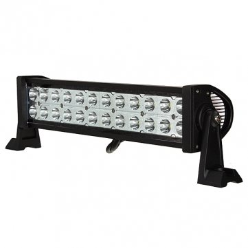 Man Friday 72W Spot LED Light Bar travail Lampe Offroad Remorque à bateau 4WD 12 / 24V