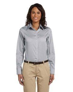 Chestnut Hill Women's Executive Performance Pinpoint Oxford Button Down Dress Shirt CH620