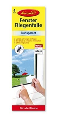 Fensterfliegenfalle transparent