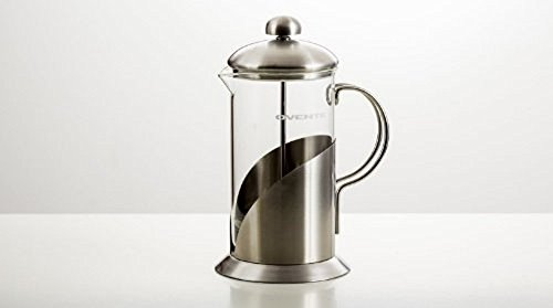 Ovente FSL34S 34oz Series Stainless Steel French Coffee Press, Leaf