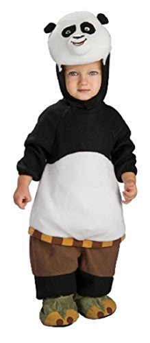 Kung Fu Panda Romper And Head Piece Po by Rubie's Costume Co