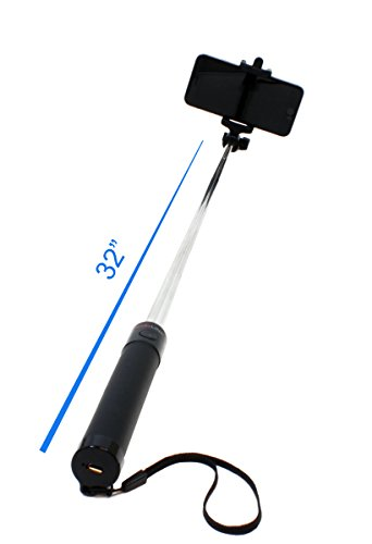 rizilink mp900 ultra compact expandable bluetooth selfie stick monopod for iphone 6 iphone 5s. Black Bedroom Furniture Sets. Home Design Ideas