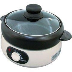 防災鍋に! 【電気 一人鍋セット 】 GD-M50N 鍋・茹でる・焼く・炒める・蒸すの1台5役