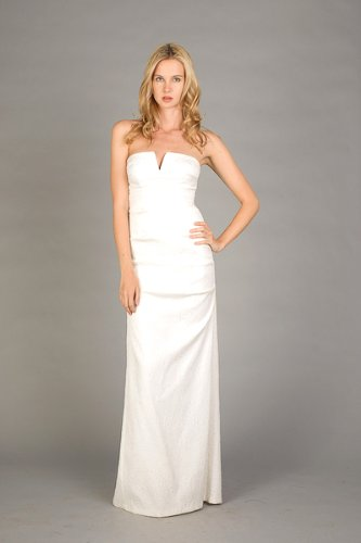 Strapless Ivory Bridal Gowns by Nicole Miller