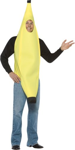 Adult Men's and Women's Banana Halloween Costume