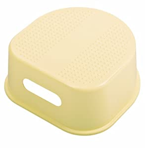 Rotho 200240101 - Taburete infantil, color amarillo claro
