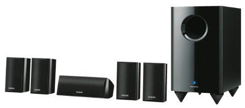 Onkyo-SKS-HT-528-51-Lautsprechersystem-Front-120-Watt-Center-120-Watt-aktiver-Subwoofer-150-Watt-schwarz