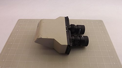 Olympus Microscope Viewing Head W/ Mmoc 10X & Mmocc 10X Objective Lens T27695