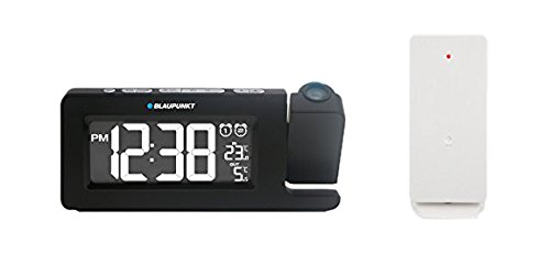 Blaupunkt CRP10BK radiosveglia con Display, termometro, proiettore nero