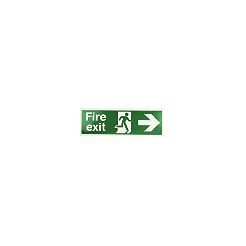 signslab-e99-a-s-panneau-de-securite-fire-exit-running-man-fleche-droite-autocollant-150-mm-x-450-mm