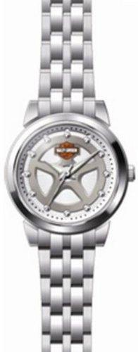 Harley-Davidson® Women's Bracelet Watch. Swarovski® Crystal Hour Marks. 76L160
