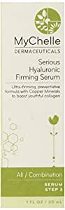 MyChelle Firming Serum, Serious Hyaluronic, 1-Ounce Bottle