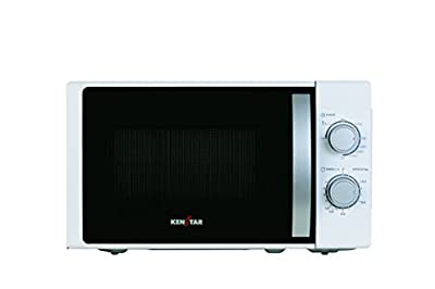 Kenstar KM20GWWN 17-Litre Grill Microwave Oven (White)
