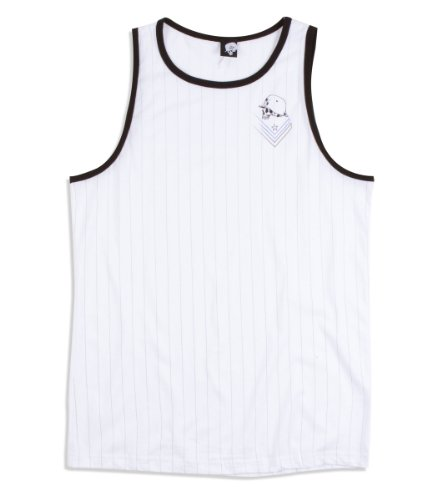 Metal Mulisha - Mens Cable Tank Top, Size: XX-Large, Color: Optic White