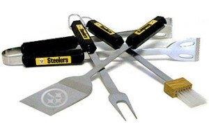 Pittsburgh Steelers Grill Bbq Utensil Set