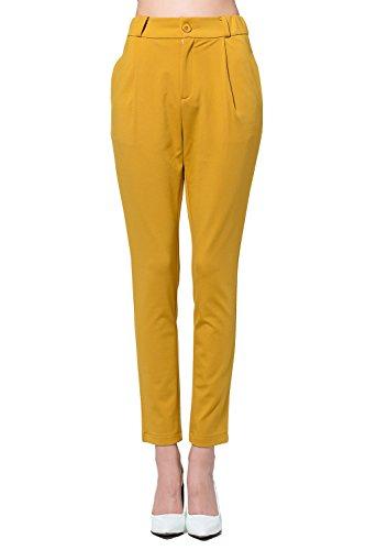 Harem Pants-Women's Dress Pants Slimming Leg Ankle Pants