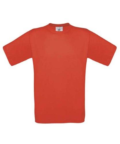 B&CHerren T-Shirt Orange Orange XXL,Orange - Orange