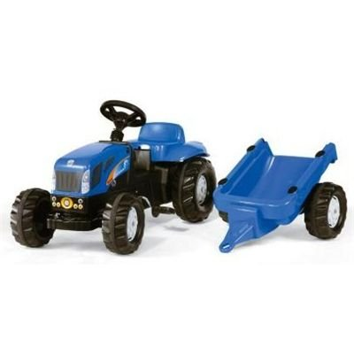 Rolly Kid New Holland TVT190 Tractor  &  Trailer