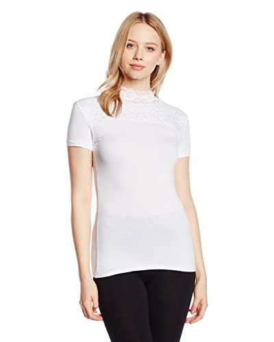 Sistina T-Shirt Manica Corta Alecia [Bianco]