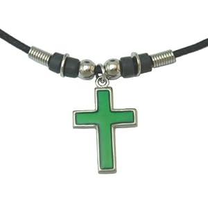 Mood Pendant Necklace - Cross