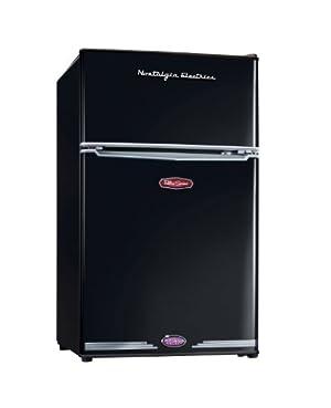 Nostalgia Electrics RRF-325BLK Retro Series 3.1 CF Compact Refrigerator