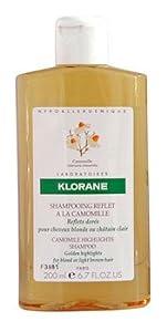 Klorane Shampoo with Chamomile, 13.4 Fluid Ounce