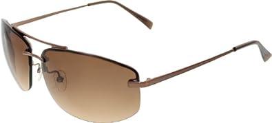 Rimless Glasses Armani : Amazon.com: Giorgio Armani Mens GA498S-CFA63-64 Brown ...