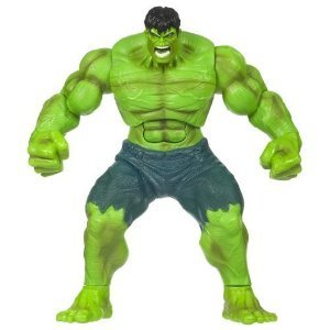 Incredible Hulk Smashin Stompin Hulk Electronic Figure LOOSE & Rare