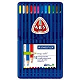 Staedtler Ergosoft Coloured Pencils ABS Anti-break System Assorted Ref