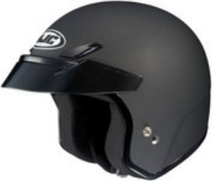 Hjc CS-5 CS5 CRUISERn Flat Black SIZE:XLG Open Face Motorcycle Helmet