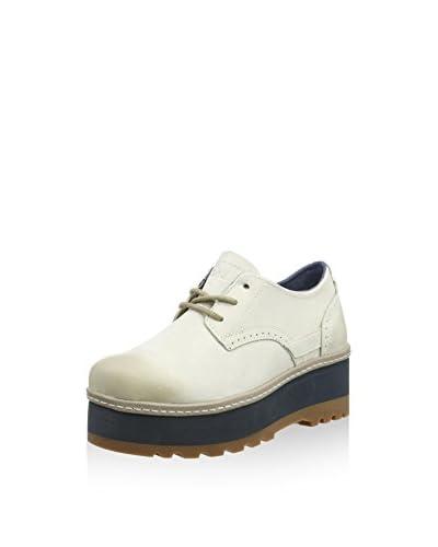 Caterpillar Zapatos de cordones Ambition Blanco
