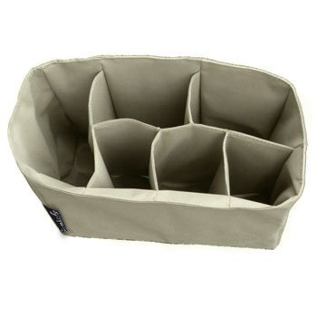 Comicfs Baby Diaper Bag Insert Organizer (Dimensions: 12 X 6.4 X 8 Inch, Khaki), with Comicfs cleaning cloth