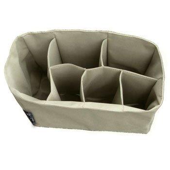 Comicfs Baby Diaper Bag Insert Organizer (Dimensions: 12 X 6.4 X 8 Inch, Khaki), with Comicfs cleaning cloth