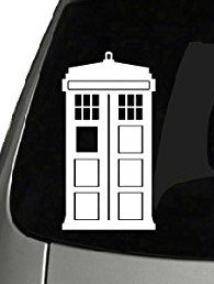 CMI170 Doctor Who Tardis Car Window Vinyl Decal Sticker 5