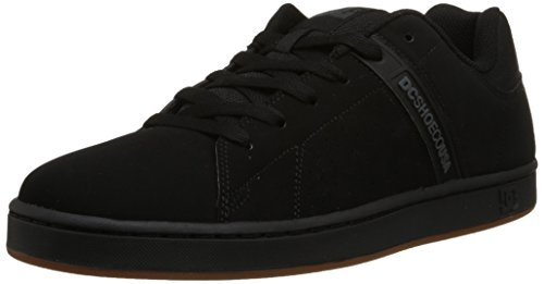 DC Men's Wage Skate Shoe, Black, 10 M US