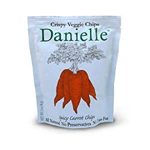 Danielle Premium Hand Cooked Chips Spicy Carrot Pack Of 4 from DANIELLE