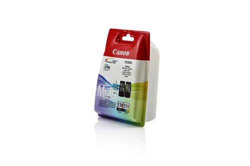 Canon Pixma MP 230 - Original Canon 2970B010 / PG-510 / CL-511 - Cartouche d'encre 4 Couleurs (BK,C,M,Y) -