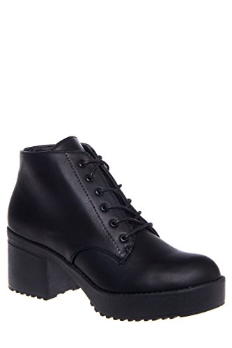 Knockout Lace-Up Bootie