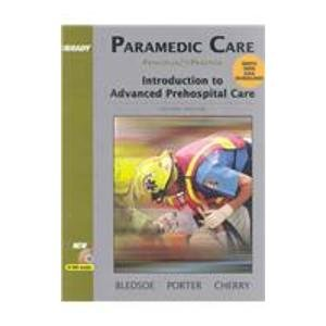Paramedic Care: Principles and Practice Volumes 1-5 Package (2nd Ed.)