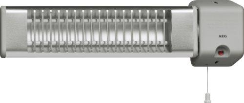 AEG 183595 IWQ 120 Infrarot Wandstrahler, Heizstrahler für Bad, 2 Heizstufen, 1200 Watt